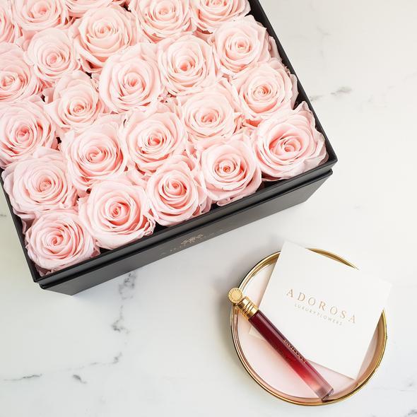 adorosa square rose box