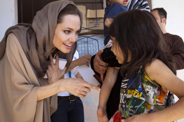 giving back how to help others angelina jolie