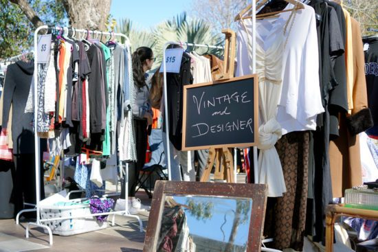 vintage second hand clothing
