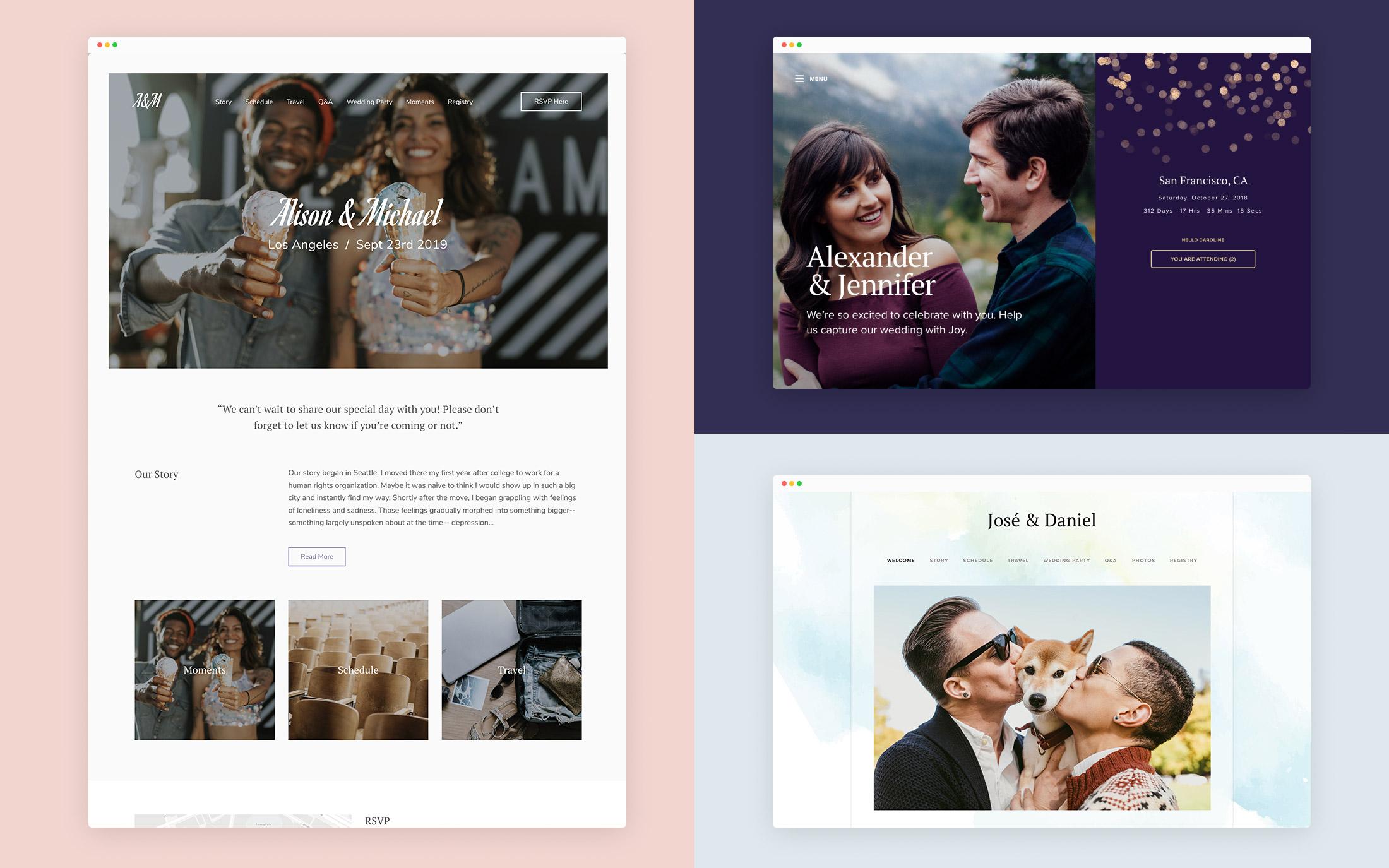 best wedding websites 2