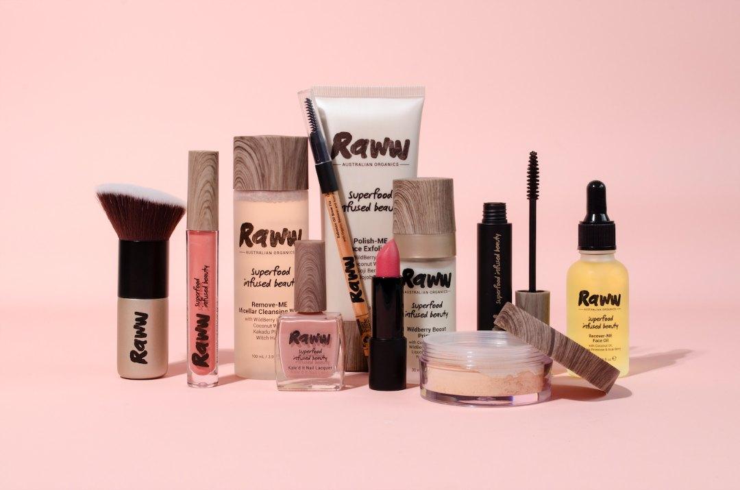super food beauty raww cosmetics