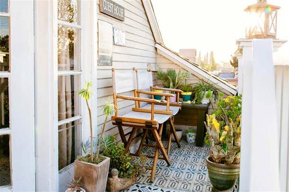 great ideas for deck or balcony