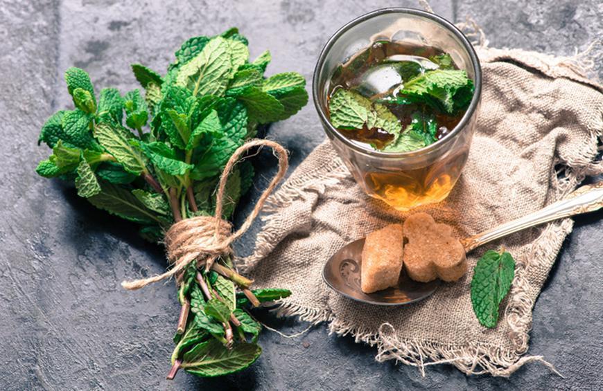 benefits of peppermint tea w