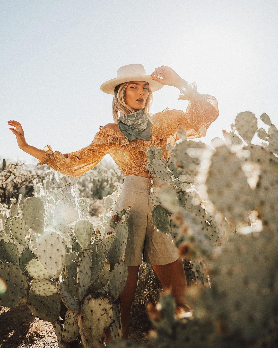 western style outfit