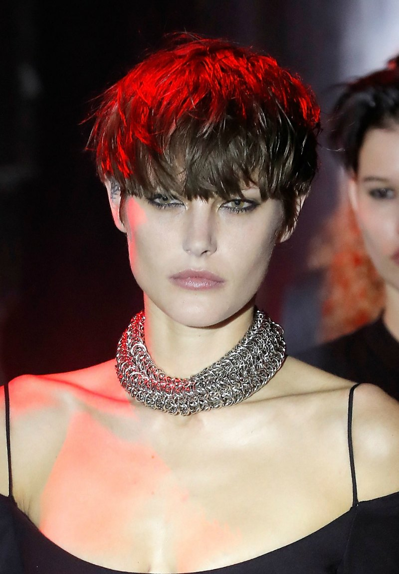 nyfw beauty looks buzz cuts and pixie cuts