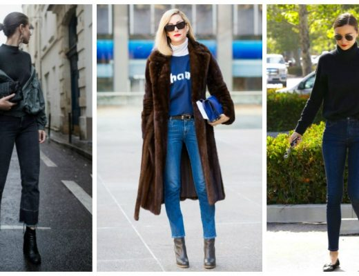 how to style jeans and sweaters for winter