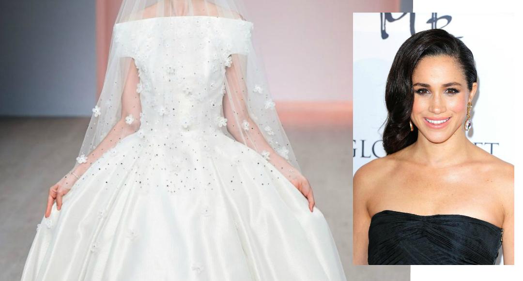 meghan markle wedding dress feature