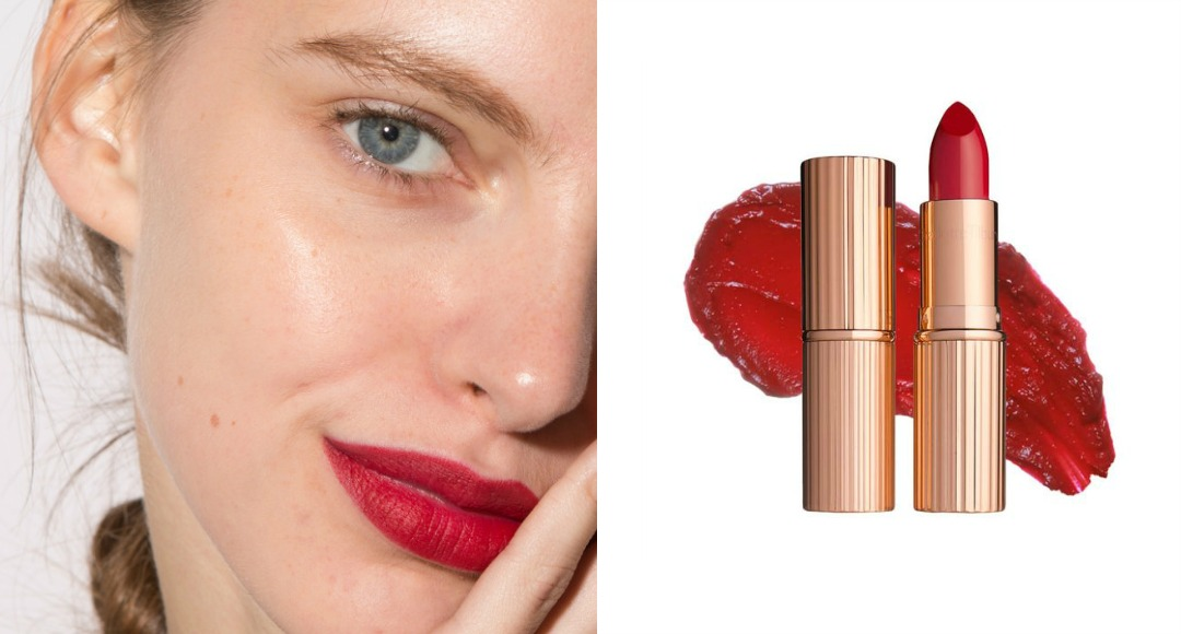 red lipstick feature