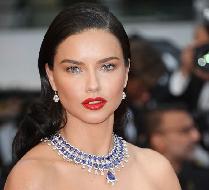 adriana lima beauty inspiration from cannes