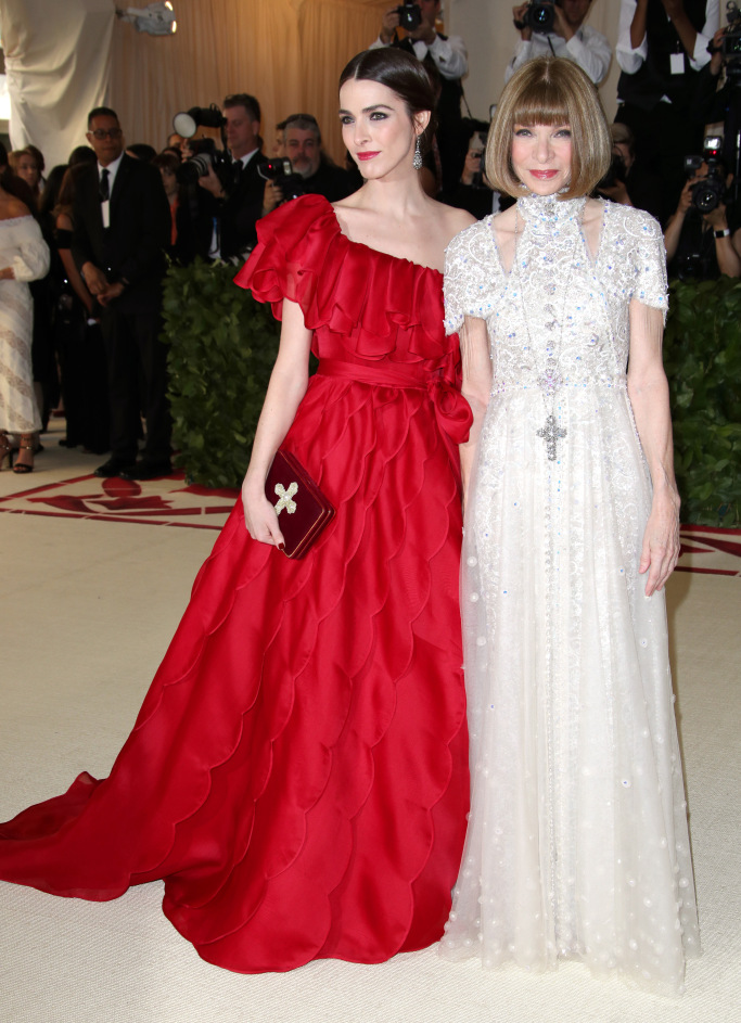 Bee Shaffer and Anna Wintour, M