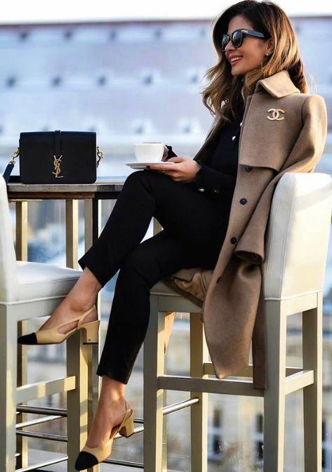 winter work outfits designer