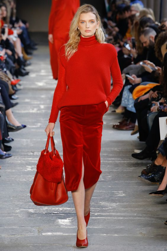 winter work outfits runway
