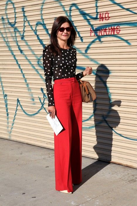 winter work outfits statement pants