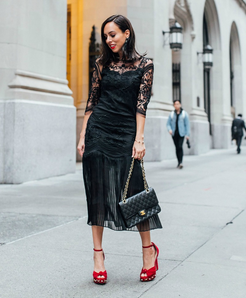 designer handbags chanel classic flap street style