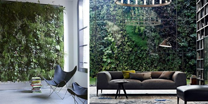 interior design trends 2019 vertical garden