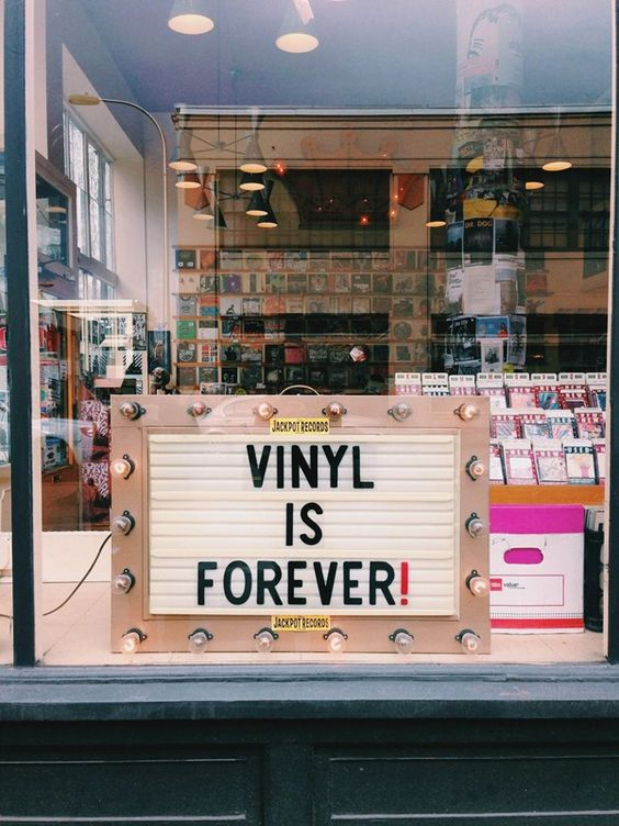 the return of vinyl records