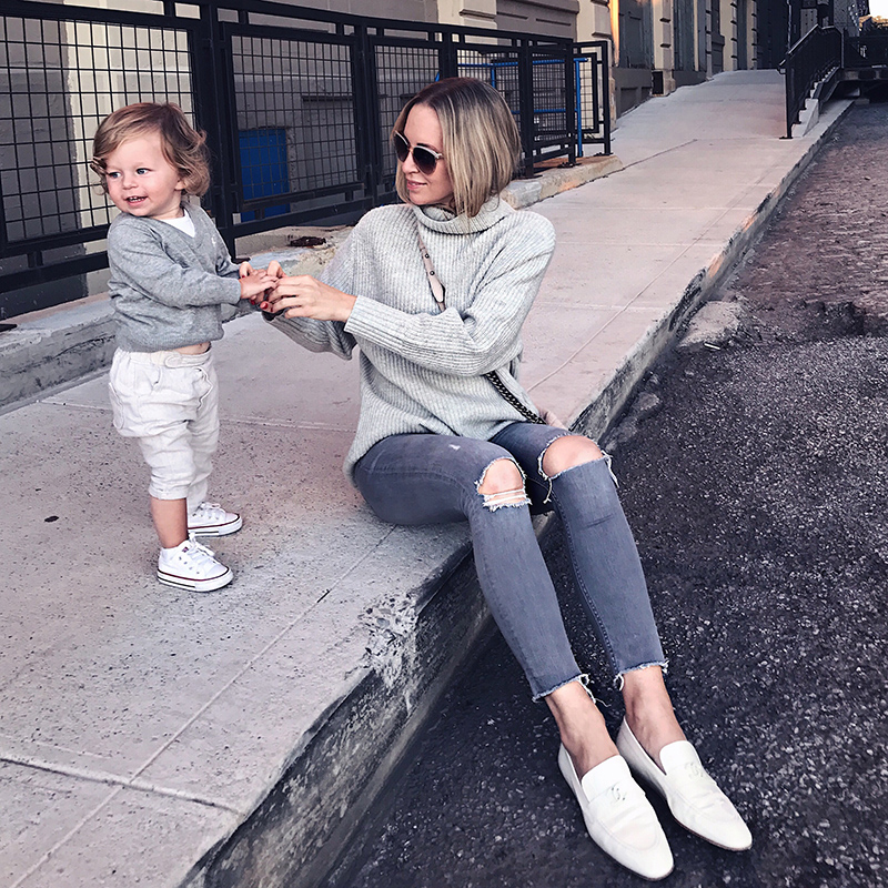 mummy blogger style inspo