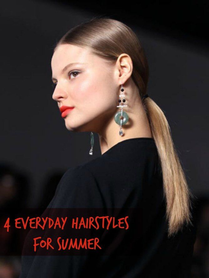 JOHN AZZI'S TOP 4 EVERYDAY HAIRSTYLES FOR SUMMER! Breakfast With Audrey