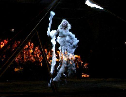 Alexander McQueen's 2006 runway 'Widows of Culloden'