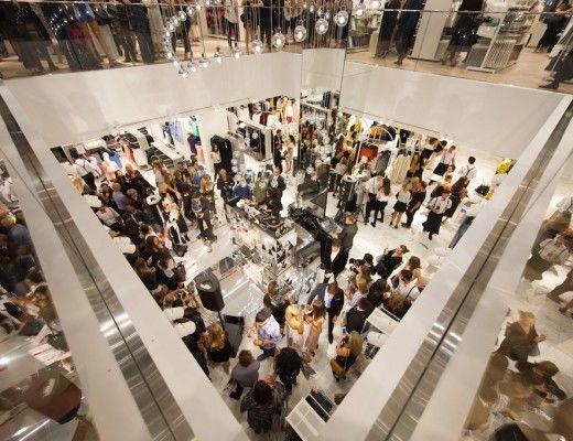 H&M Sydney Launch