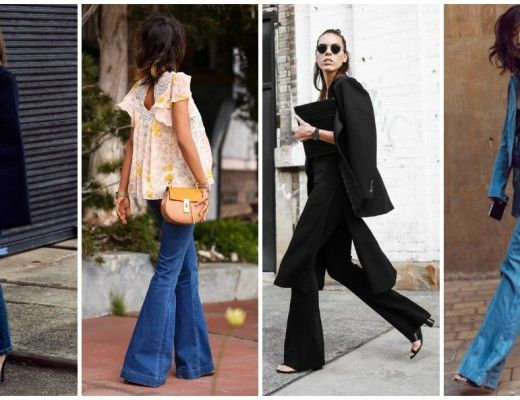 How to wear flares this season