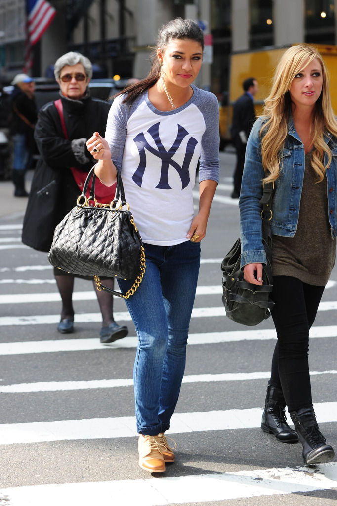 Jessica Szohr Out & About in NYC