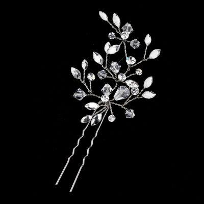 wedding hairstyles Swarovski Sprig Bridal Hair Pin