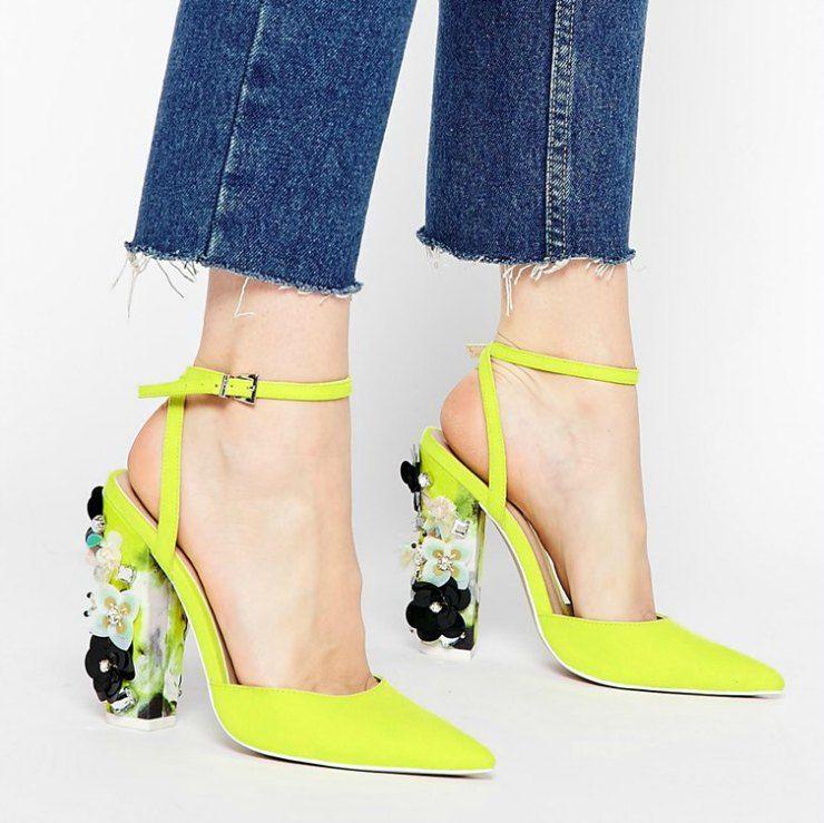 asos statement heels