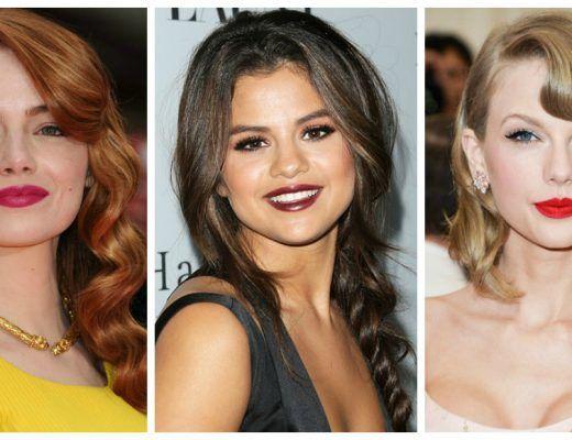 beauty inspiration celebrity bold lip looks