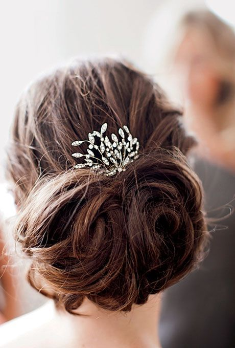 wedding hairstyles - classic chignon