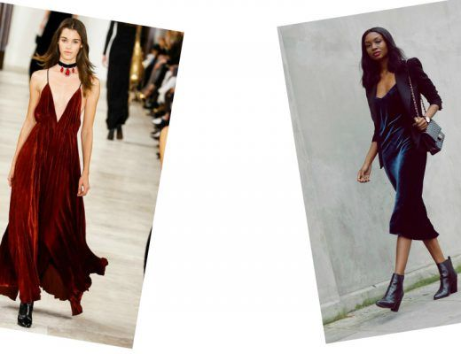 fashion tips how to wear the velvet trend