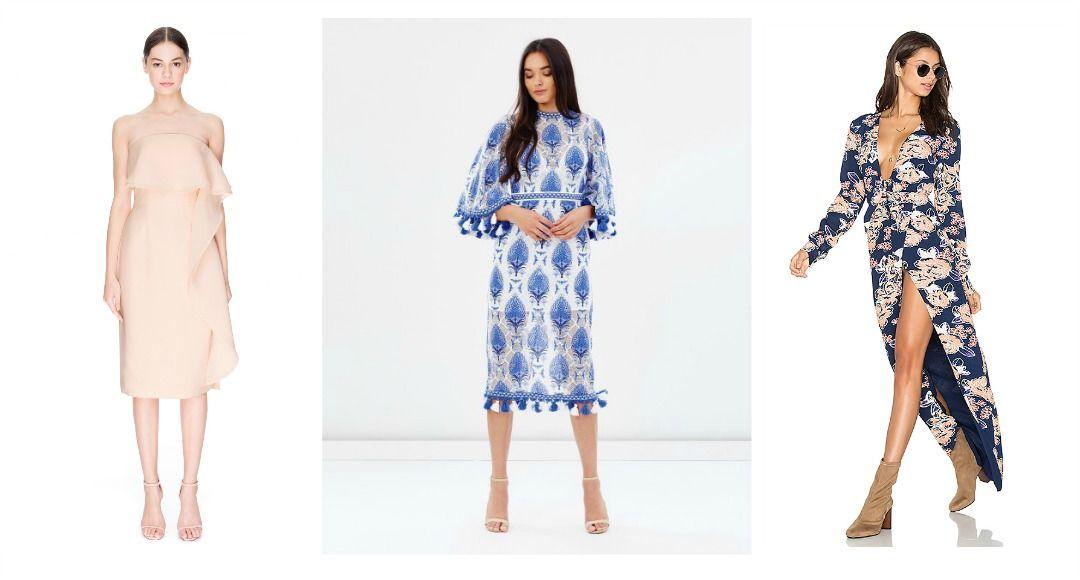 whatto wear to a garden wedding 2018