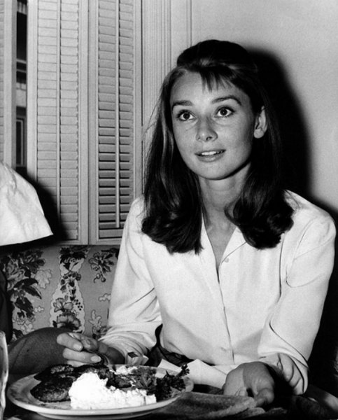 Audrey was born in Belgium in 1929, her real name was Audrey Kathleen Ruston.
