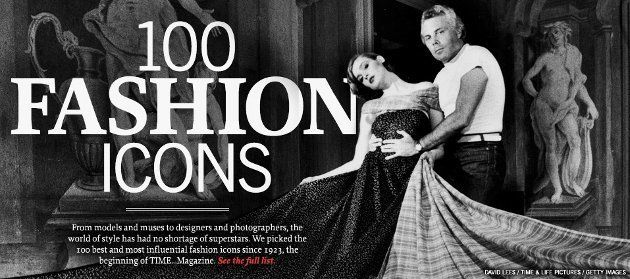 100 fashio icons