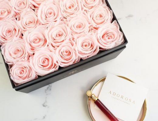 adorosa square rose box