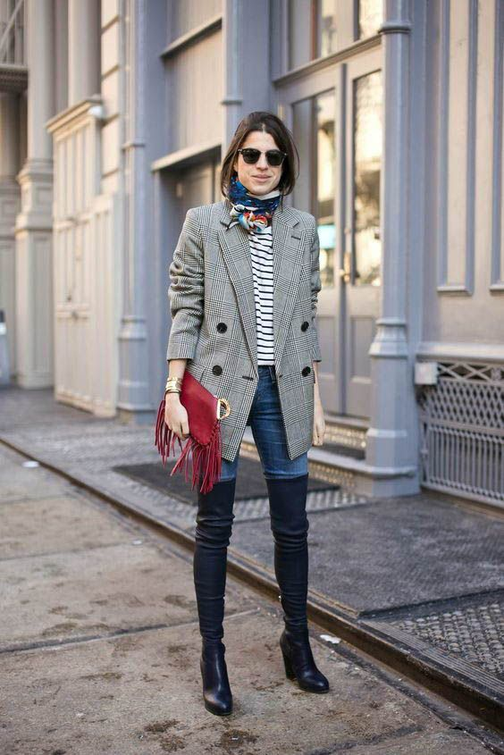 shoes every woman should own - over knee boot