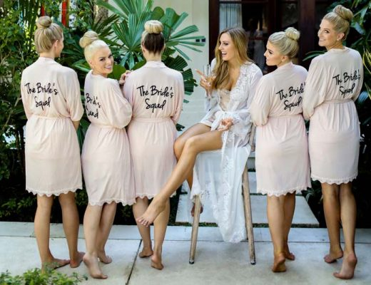 how to prepare for the wedding day bridal robes