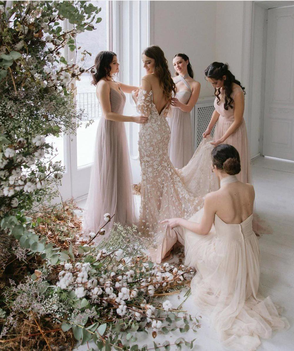 how to prepare for the wedding day bridesmaids