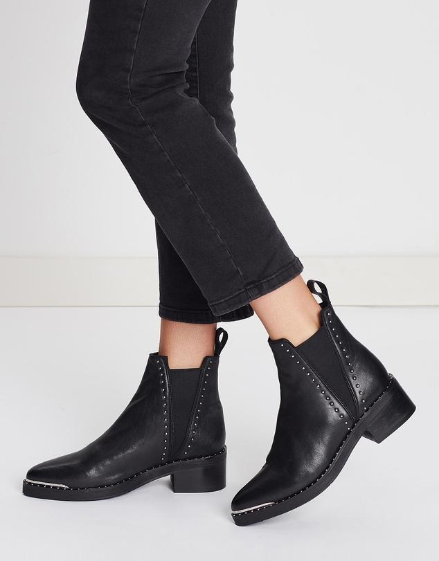 capsule wardrobe australia black ankle boots