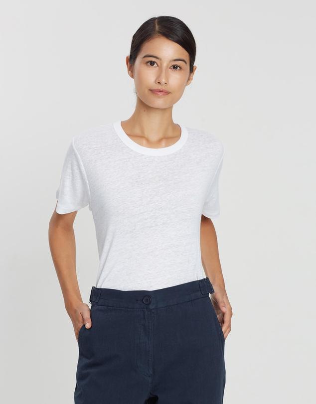 capsule wardrobe australia white tshirt