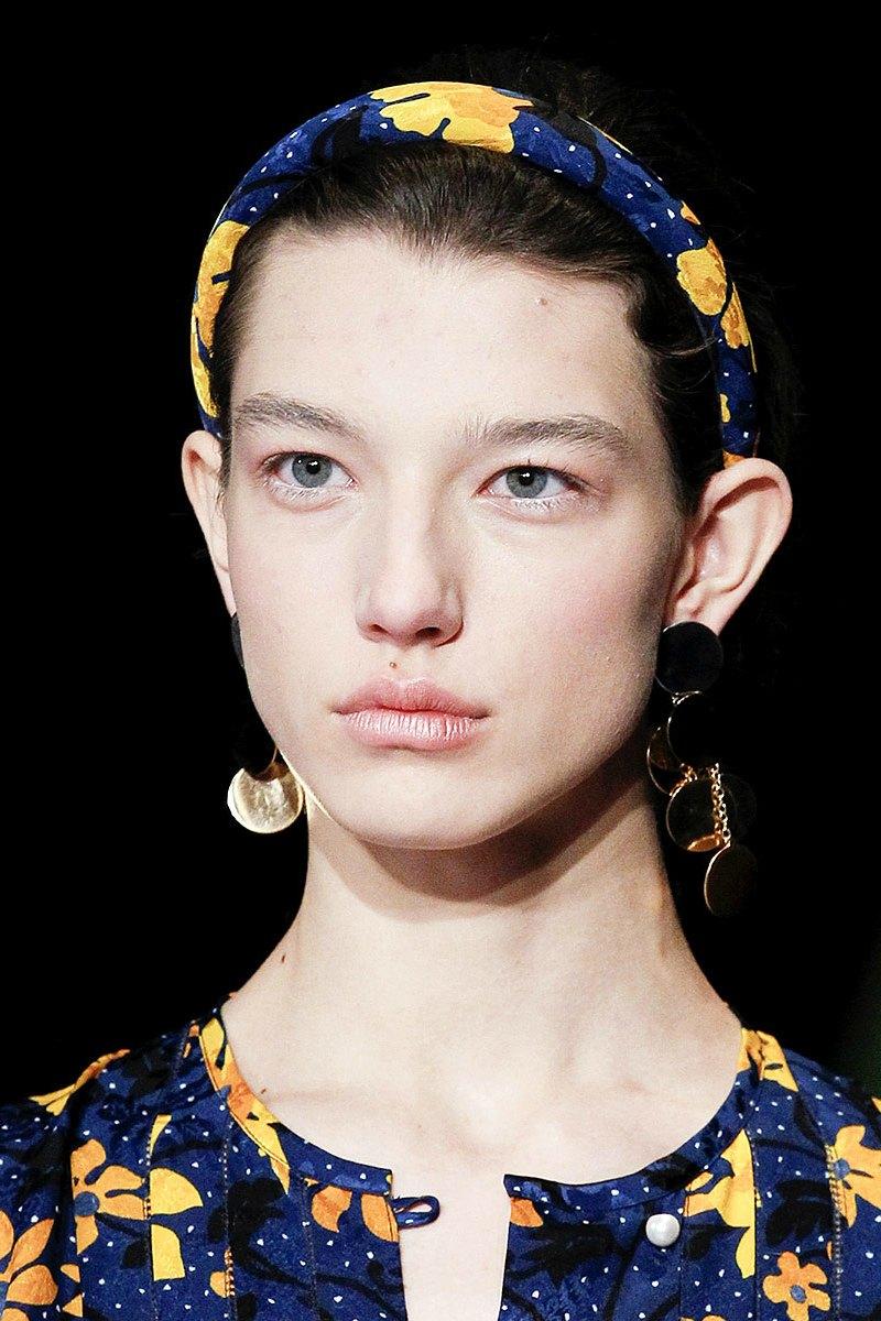 NYFW beauty looks haute couture headbands