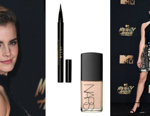 emma watson beauty look mtv 2017