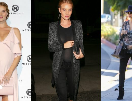 rosie huntington whiteley maternity