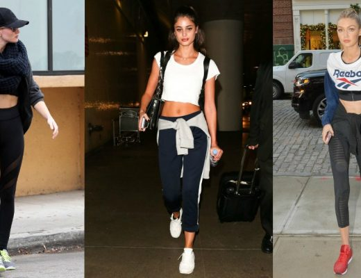 celebrity workout outfits