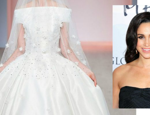 meghan markle wedding dress feature