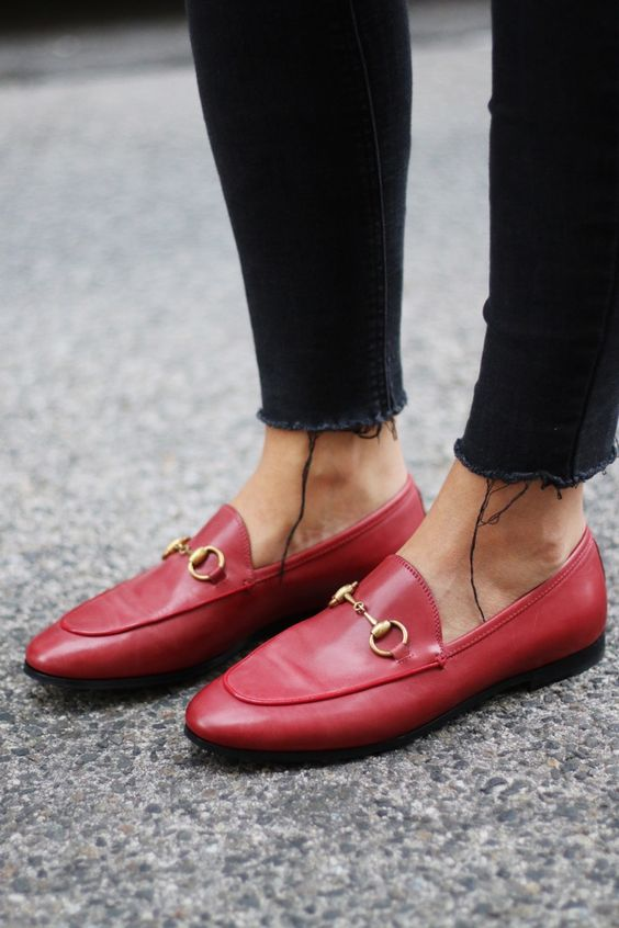 gucci jordaan loafer classic iconic style