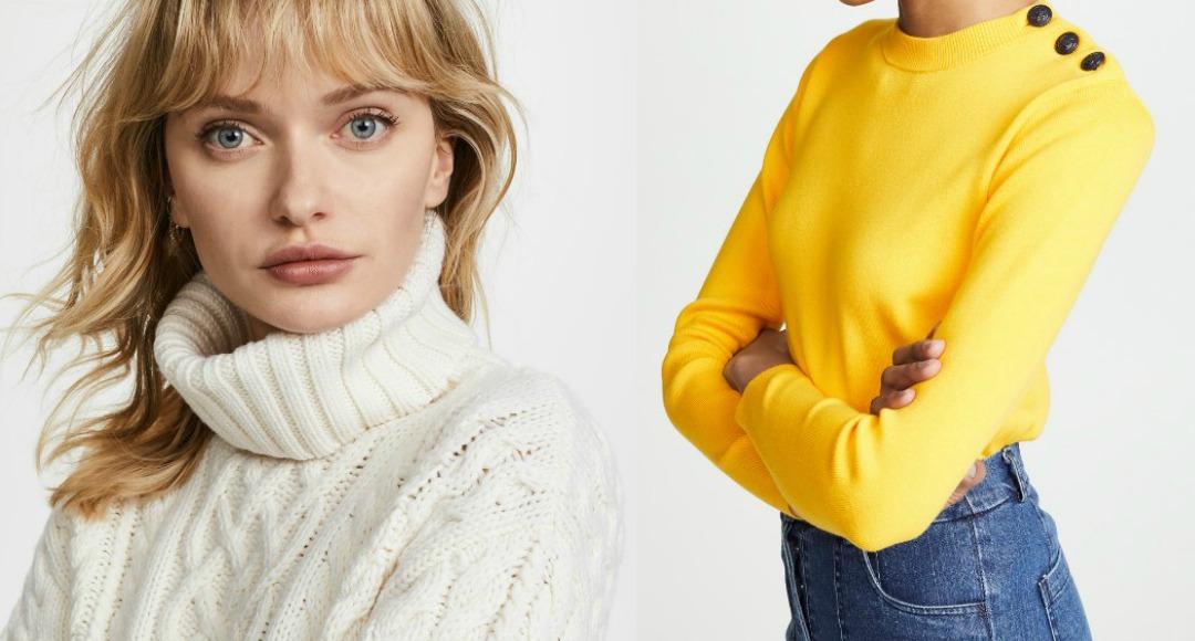 women's knitwear feature