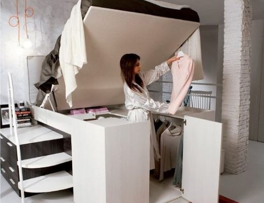 clever storage small spaces