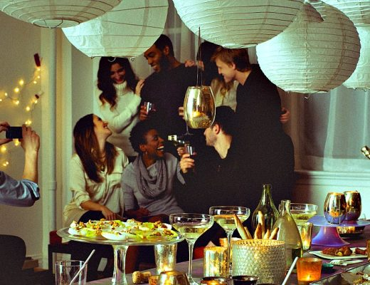 staying in dinner party inspiration