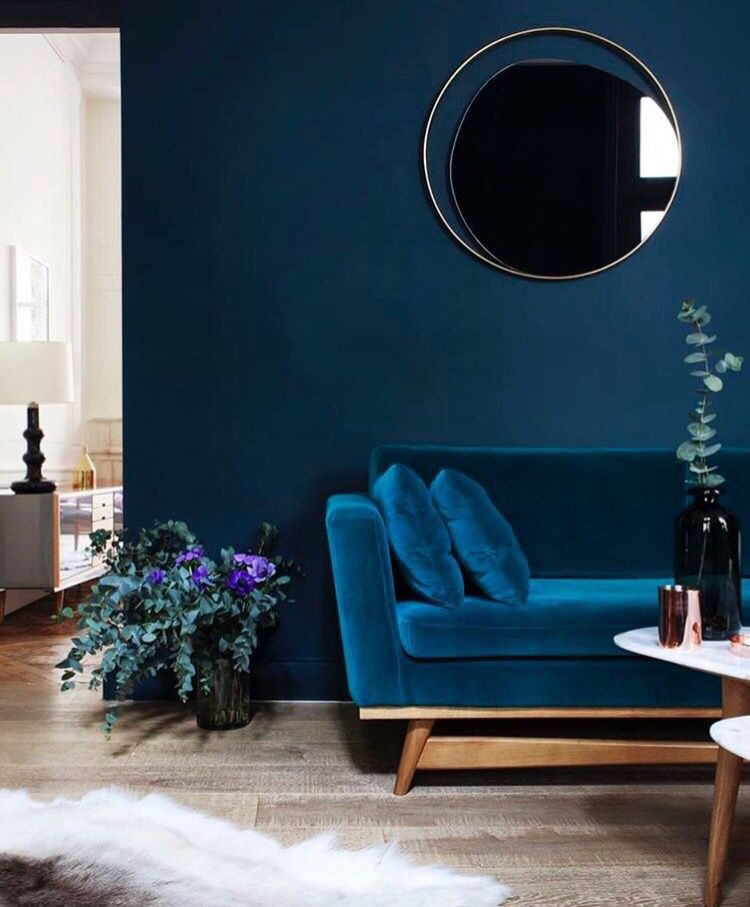 elegant interiors wall colour